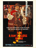 "Movie Posters:Western, For a Few Dollars More (United Artists, 1967). Poster (30"" X 40"")David Blossom Artwork.. ..."
