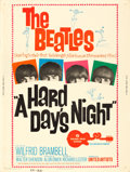 "Movie Posters:Rock and Roll, A Hard Day's Night (United Artists, 1964). Poster (30"" X 40"").. ..."