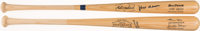 Hank Aaron and Willie Mays Signed Bats Lot of 2