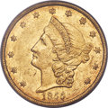 Territorial Gold , 1855 $20 Kellogg & Co. Twenty Dollar XF40 PCGS. K-3c (not listed in Kagin), R.5....