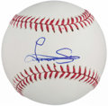 Autographs:Baseballs, Luis Severino Single Signed Baseball. ...