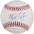 Autographs:Baseballs, Mark Teixeira Single Signed Baseball....