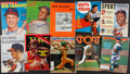 Baseball Collectibles:Publications, Baseball Greats Signed Vintage Magazines Lot of 10. ...