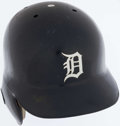 Baseball Collectibles:Others, 1998 Tony Clark Game Worn Detroit Tigers Batting Helmet. ...