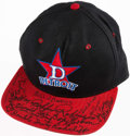 Autographs:Others, Detroit Stars Negro League Multi-Signed Hat. ...