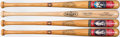 Baseball Collectibles:Others, Cooperstown Hall of Fame Limited Edition Bats (4) - Includes Ruthand Mathewson. ...