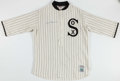Baseball Collectibles:Uniforms, Luis Aparicio Signed Chicago White Sox Jersey. ...