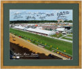 Miscellaneous Collectibles:General, Pimlico Race Course Multi-Signed Photograph....