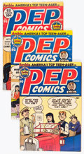 Silver Age (1956-1969):Humor, Pep Comics Group of 16 (Archie, 1952-69) Condition: Average FN....(Total: 16 Comic Books)