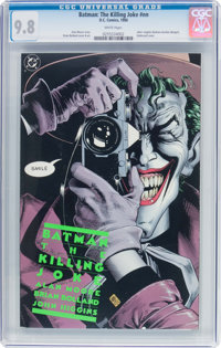 Batman: The Killing Joke #nn First Printing (DC, 1988) CGC NM/MT 9.8 White pages
