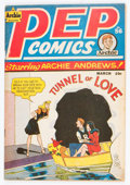 Golden Age (1938-1955):Humor, Pep Comics #56 (Archie, 1946) Condition: GD/VG....