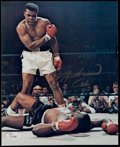 Boxing Collectibles:Autographs, Muhammad Ali Signed Photograph. ...