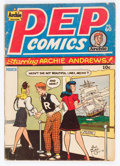 Golden Age (1938-1955):Humor, Pep Comics #60 (Archie, 1947) Condition: GD/VG....