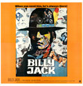 "Movie Posters:Action, Billy Jack (Warner Brothers, 1971). International Six Sheet (76.5""X 80"") Piero Ermanno Laia Artwork.. ..."