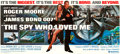 "Movie Posters:James Bond, The Spy Who Loved Me (United Artists, 1977). 24 Sheet (104"" X 236""Approx.) Bob Peak Artwork.. ..."