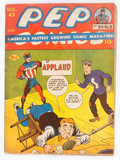 Golden Age (1938-1955):Humor, Pep Comics #43 (MLJ, 1943) Condition: GD-....