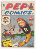 Golden Age (1938-1955):Miscellaneous, Pep Comics #48 (MLJ, 1944) Condition: GD-....