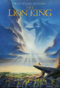 "Movie Posters:Animated, The Lion King (Buena Vista, 1994). One Sheet (27"" X 41""). Matthew Broderick, James Earl Jones, and Nathan Lane lend their vo..."