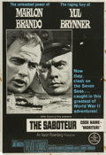 "Movie Posters:War, Morituri (20th Century Fox, 1965). Australian One Sheet (27"" X40""). Marlon Brando and Yul Brynner star in this WWII spy thr..."