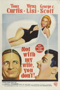 """Movie Posters:Comedy, Not with My Wife, You Don't! (Warner Brothers, 1966). Australian One Sheet (27"""" X 40""""). Tony Curtis, George C. Scott, Virna ..."""