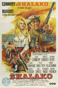 """Movie Posters:Western, Shalako (Cinerama Releasing, 1968). Australian One Sheet (27"""" X40""""). Sean Connery is Shalako, a guide in the old West who h..."""