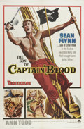 "Movie Posters:Adventure, The Son of Captain Blood (Paramount, 1963). One Sheet (27"" X 41"").One of the few films starring Sean Flynn, this movie is a..."