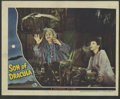 """Movie Posters:Horror, Son of Dracula (Universal, 1943). Lobby Cards (2) (11"""" X 14""""). Lon Chaney Jr. stars as Count Alucard (Dracula spelled backwa... (Total: 2 Items)"""