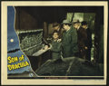 """Movie Posters:Horror, Son of Dracula (Universal, 1943). Lobby Cards (2) (11"""" X 14""""). Lon Chaney Jr. stars in this classic horror film. One of the ... (Total: 2 Items)"""
