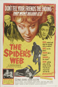 "Movie Posters:Mystery, The Spider's Web (United Artists, 1961). One Sheet (27"" X 41"").This film version of Agatha Christie's 1954 thriller stars G..."