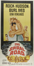 """Movie Posters:Adventure, The Spiral Road (Universal, 1962). Three Sheet (41"""" X 81""""). RockHudson is a doctor who comes with his wife Gena Rowlands to..."""