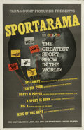 "Movie Posters:Sports, Sportarama (Paramount, 1963). One Sheet (27"" X 41""). Paramount Pictures takes you around the world of sports, with looks at ..."