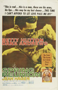 """Movie Posters:Drama, Spring Reunion (United Artists, 1957). One Sheet (27"""" X 41""""). """"Most Likely to Succeed"""" Fred Davis (Dana Andrews) reconnects ..."""