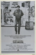 "Movie Posters:Crime, Taxi Driver (Columbia, 1976). One Sheet (27"" X 41"") Style B. ""ThankGod for the rain to wash the trash off the sidewalk."" Ma..."