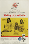 "Movie Posters:Cult Classic, Valley of the Dolls (20th Century Fox, 1967). Australian One Sheet(27"" X 40""). Sharon Tate, Patty Duke and Barbara Parkins ..."