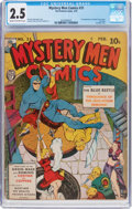 Golden Age (1938-1955):Superhero, Mystery Men Comics #31 (Fox, 1942) CGC GD+ 2.5 Cream to off-white pages....