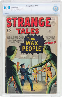 Strange Tales #93 (Marvel, 1962) CBCS FN 6.0 Off-white to white pages