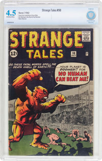 Strange Tales #98 (Marvel, 1962) CBCS VG+ 4.5 Off-white to white pages