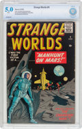 Golden Age (1938-1955):Science Fiction, Strange Worlds #4 (Marvel, 1959) CBCS VG/FN 5.0 White pages....