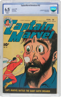 Captain Marvel Adventures #52 (Fawcett Publications, 1946) CBCS FN+ 6.5 Off-white to white pages