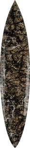 Post-War & Contemporary:Contemporary, Tim Bessell X Jackson Pollock. Autumn Rhythm White.Polyester Resin, digitally printed fiberglass. 98 x 20 x 2-1/2inche...