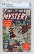 Golden Age (1938-1955):Science Fiction, Journey Into Mystery #26 (Atlas, 1955) CBCS GD+ 2.5 Off-white towhite pages....