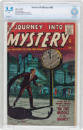 Silver Age (1956-1969):Horror, Journey Into Mystery #46 (Atlas, 1957) CBCS VG- 3.5 White pages....