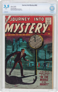 Journey Into Mystery #46 (Atlas, 1957) CBCS VG- 3.5 White pages