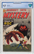 Silver Age (1956-1969):Horror, Journey Into Mystery #71 (Marvel, 1961) CBCS VG+ 4.5 Whitepages....