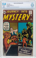 Silver Age (1956-1969):Horror, Journey Into Mystery #74 (Marvel, 1961) CBCS Restored VG/FN 5.0(Slight) Off-white to white pages....