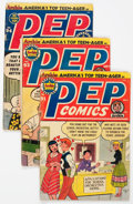 Silver Age (1956-1969):Humor, Pep Comics Group of 58 (MLJ, 1952-69) Condition: Average GD.... (Total: 58 Comic Books)