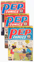 Golden Age (1938-1955):Superhero, Pep Comics Group of 12 (Archie, 1948-51) Condition: Average GD.... (Total: 12 Comic Books)
