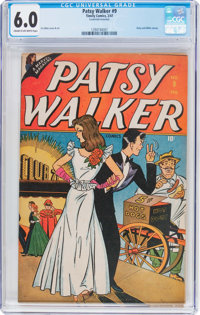 Patsy Walker #9 (Timely, 1947) CGC FN 6.0 Cream to off-white pages