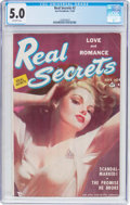 Golden Age (1938-1955):Romance, Real Secrets #2 (Ace Periodicals, 1949) CGC VG/FN 5.0 Off-whitepages....