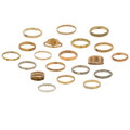 Estate Jewelry:Rings, Gold Rings. ... (Total: 20 Items)